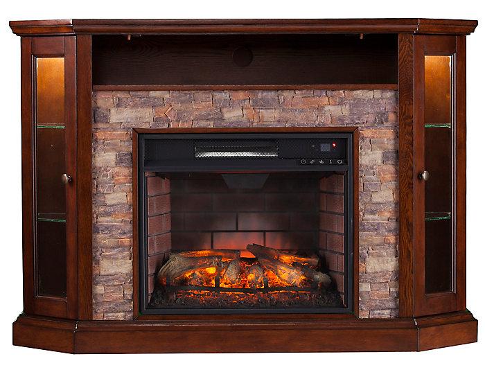 Radden Coffee Corner Fireplace Art Van Home