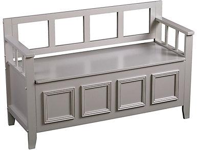 Crawford Storage Bench, , large