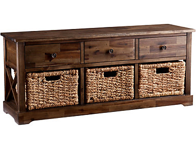 Morris Storage Bench, , large
