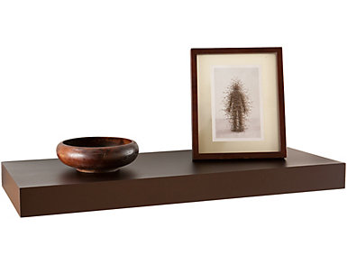 "Mulford 24"" Brown  Shelf, , large"