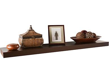 "Mulford 48"" Brown  Shelf, , large"