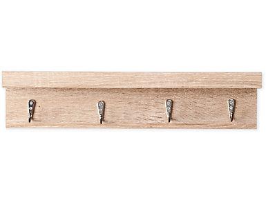 "Ibis 19"" Oak Wall Shelf, , large"