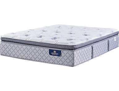 Serta Ridgley Super Pillow Top Queen Mattress, , large