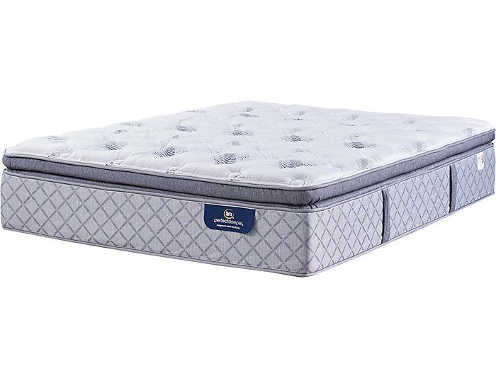 Serta Ridgley Super Pillow Top Queen Mattress Art Van Puresleep