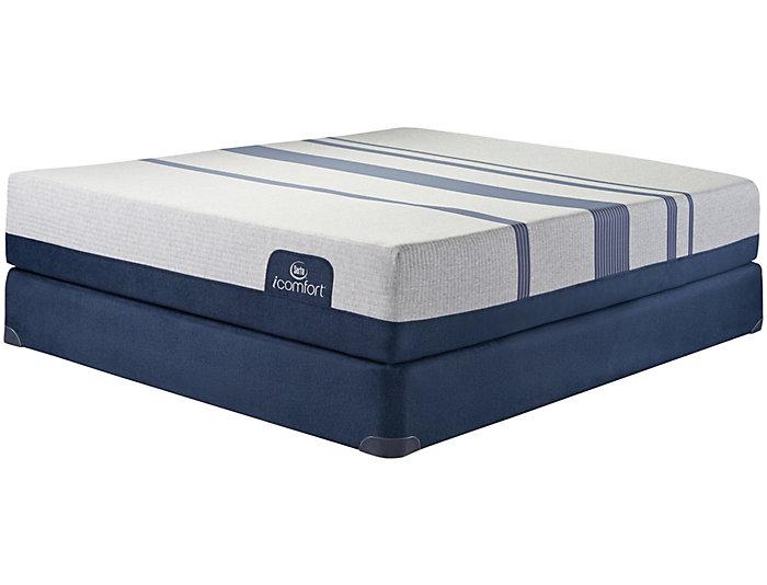 Queen Blue 500XT Mattress Set, , large