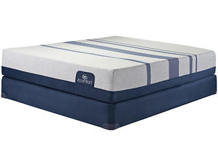 Twin XL Blue 500XT Mattress Set, , large