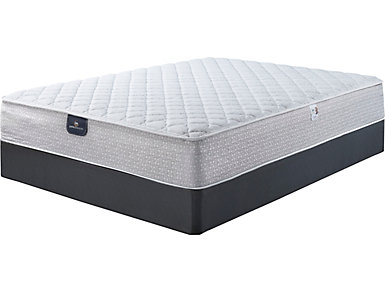Serta Chreston Queen Mattress Set, , large
