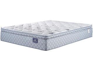 Serta Sheppard Pillow Top Queen Mattress, , large
