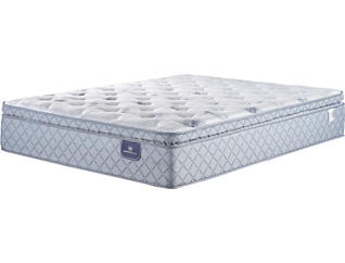 Serta Sheppard Pillow Top Queen Mattress, , large