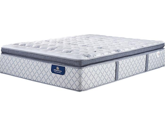 Serta Worley Super Pillow Top Queen Mattress, , large