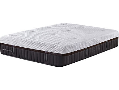 Stearns Foster Brooklet Hybrid King Mattress, , large