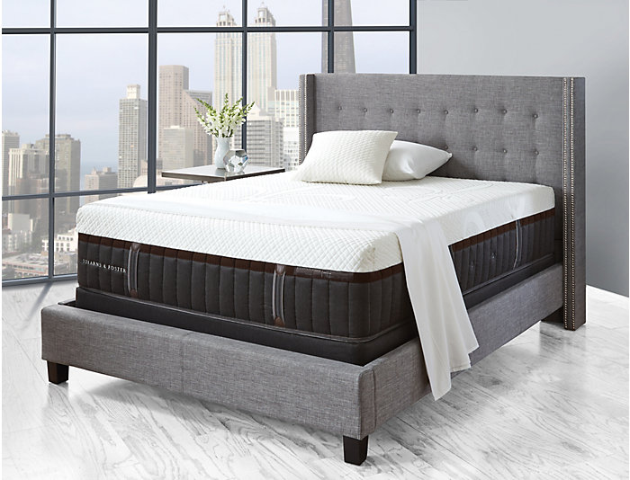 Stearns   Foster Lakelet Hybrid Queen Mattress, , large