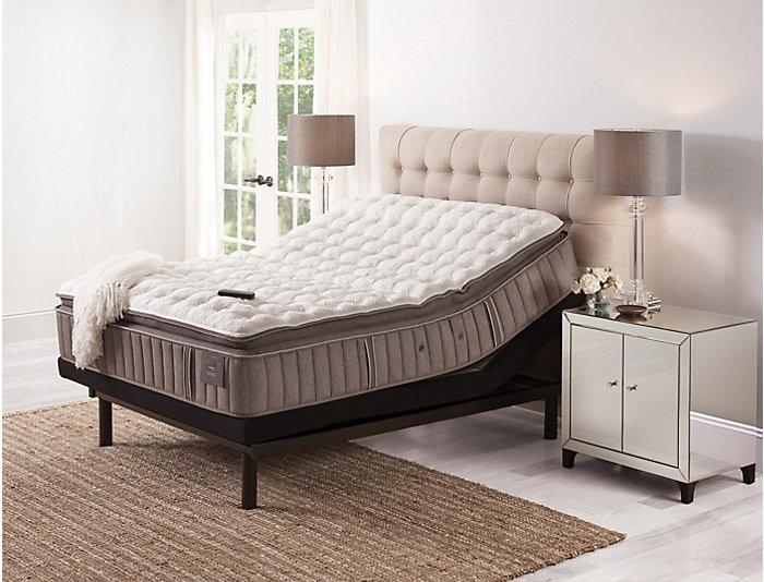 Stearns   Foster Oak Terrace Euro Pillow Top Queen Mattress, , large