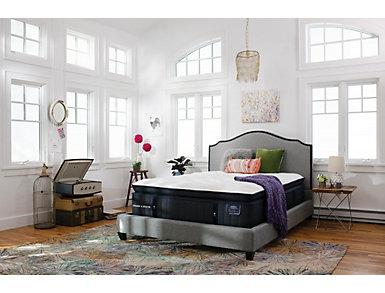 Stearns & Foster Cassatt Luxury Firm Euro PillowTop Queen Power Set, , large