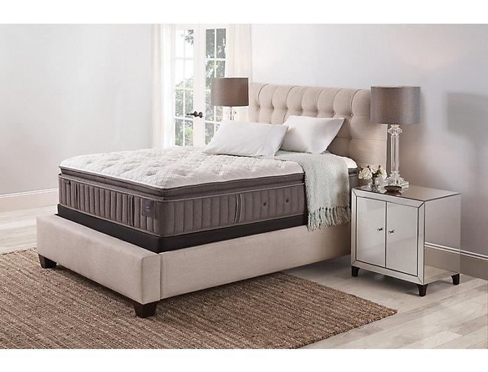 Stearns   Foster King Scarborough 2 Euro PillowTop Mattress Set, , large