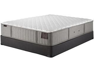Stearns   Foster Queen Low Profile Scarborough2 Ultra Firm Mattress Set, , large