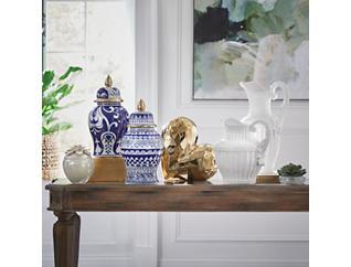 "14.5"" Ceramic Bold Temple Jar, , large"