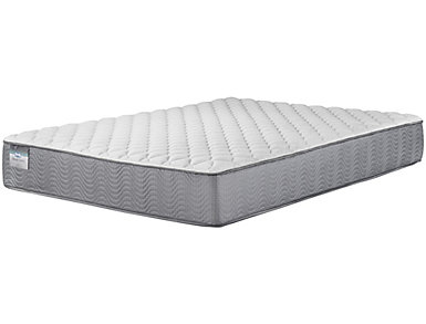 Simmons BeautySleep Finleyville Queen Firm Mattress, , large