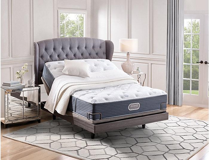 Simmons Beautyrest Eureka Luxury Firm Full XL Mattress, , large