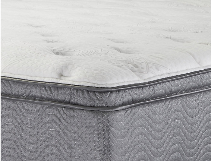 Beautysleep Fullerton Luxury Firm PillowTop Full Mattress   Low Profile Foundation Set, , large