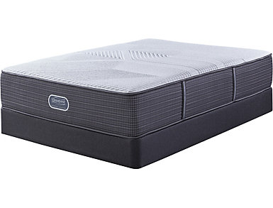 Simmons Beautyrest Hybrid Southgate Twin Low Profile Mattress Set, , large