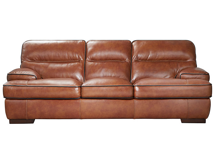 Cody Brown Leather Sofa