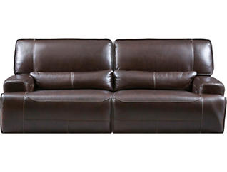 Pleasant Dylan Brown Power Reclining Leather Sofa Spiritservingveterans Wood Chair Design Ideas Spiritservingveteransorg