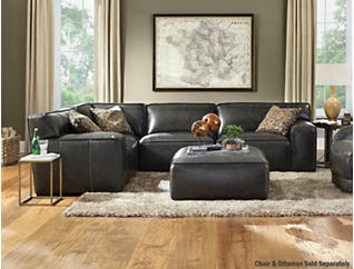 Colton 4 Piece Sectional, Grey, , large