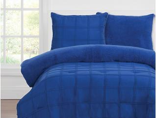 Playful Plush Twin Comforter, , large