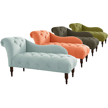 Adela Chaise Lounge Collection Fabric Furniture Sets