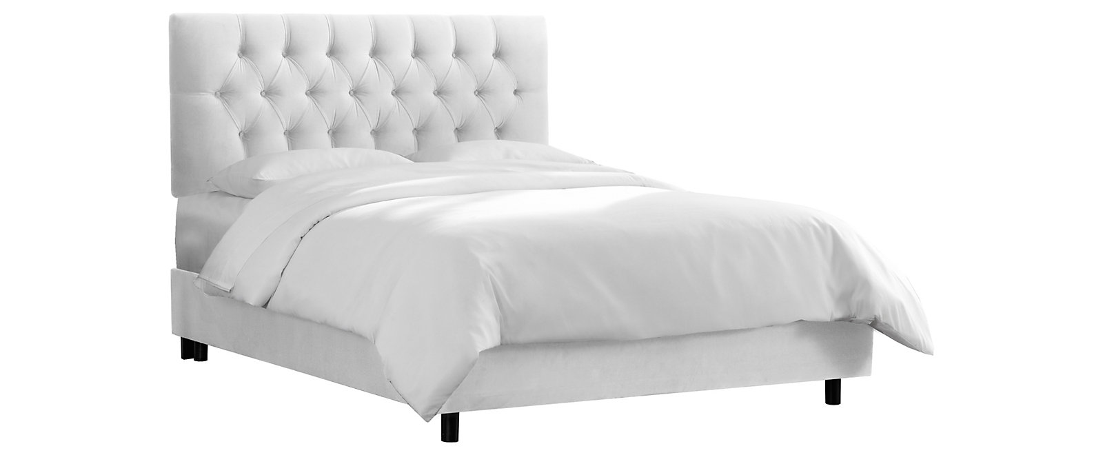 Daniel White Bed Collection, , large