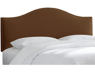 Nailed Chocolate King Bed, , large