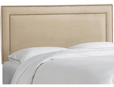 Full Oatmeal Nailhead Bed, , large