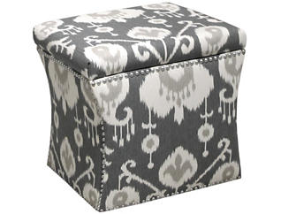 Zoe Storage Ottoman, Brown/Java, , large