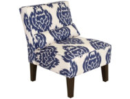 shop Lola-Blue-Armless-Chair