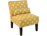 shop Lola-Yellow-Armless-Chair