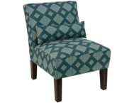shop Lola-Teal-Armless-Chair