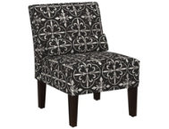 shop Lola-Black-Armless-Chair