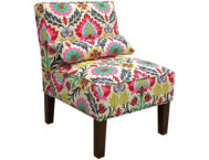 shop Lola-Flower-Armless-Chair