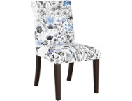 shop Botanical-Blue-Dining-Chair