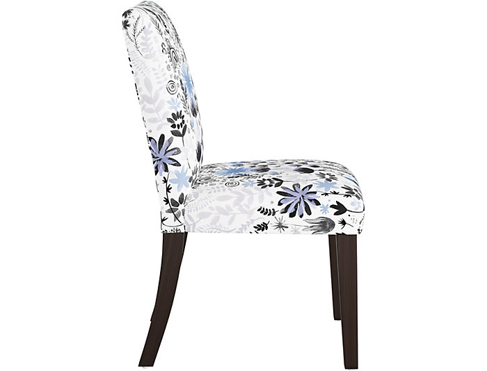 Botanical Blue Dining Chair, , large