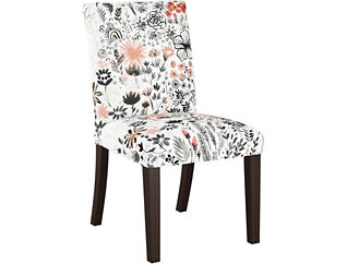 Botanical Red Dining Chair, , large