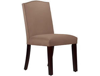 Camel Back Cocoa Dining Chair, , large