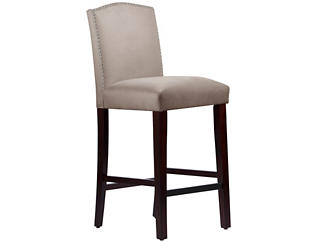 Camel Back Grey Bar Stool, , large