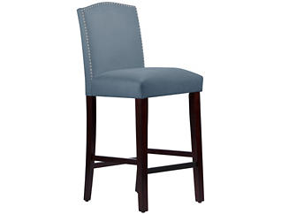 Camel Back Blue Bar Stool, , large