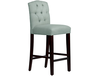 Tufted Arched Bar Stool, , large