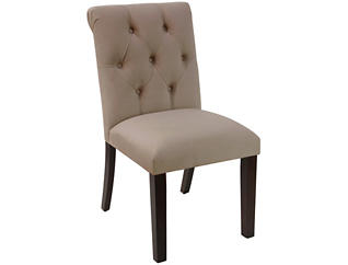Rollback Brown Dining Chair, , large