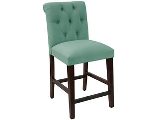Rollback Blue Counter Stool, , large