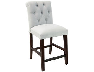 Rollback White Counter Stool, , large