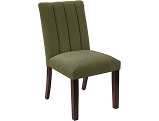 Moss Channel Dining Chair, , large